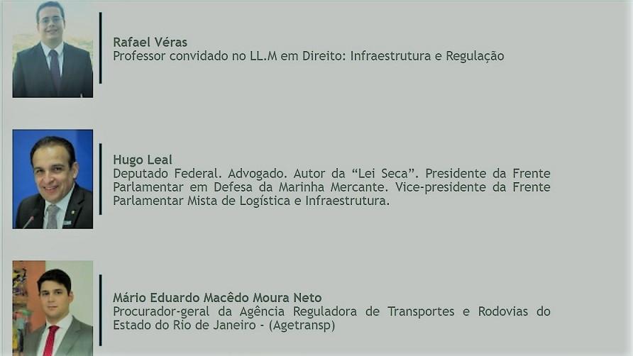 Rafael Véras, Hugo eal e Mário Eduardo Macêdo Moura Neto