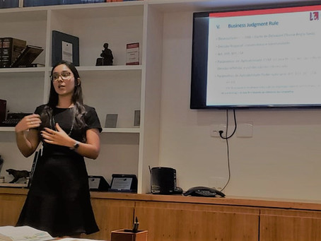 Business judgement rule, por Tathyana Fróes Diogo