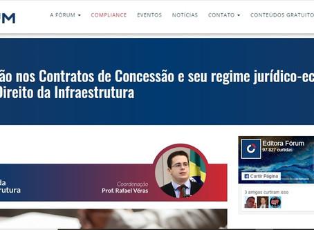 Coluna Direito da Infraestrutura trata da reversão nos Contratos de Concessão