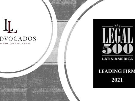 LL Advogados é mais uma vez reconhecido no ranking The Legal 500