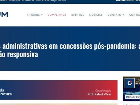 Direito da Infraestrutura: as sanções administrativas em concessões pós-pandemia