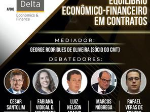 """Sócio de LL Advogados participa de webinar sobre """"Equilíbrio Econômico-Financeiro em Contratos"""""""