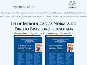 Sócios de LL Advogados lançam livro na Apamagis