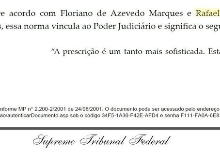 Decisão do STF cita artigo de sócio de LL Advogados