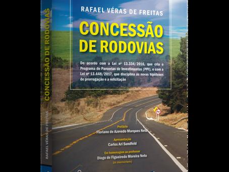 """Sócio de LL Advogados lança """"Concessão de Rodovias"""""""