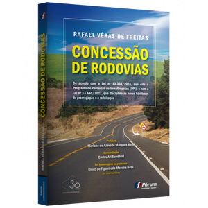 """Capa do livro """"Concessão de Rodovias"""""""