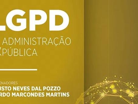 """Advogados do escritório publicam artigo no livro """"LGPD e a Administração Pública"""""""