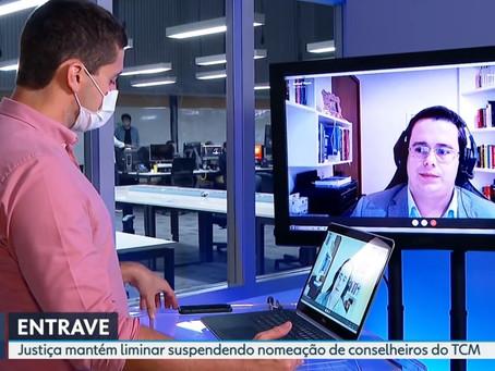 Sócio de LL Advogados concede entrevista à TV Globo sobre a nomeação de conselheiros do TCM