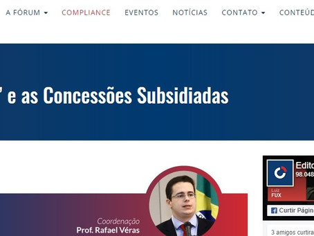 """Coluna Direito da Infraestrutura: O """"Cisne Negro"""" e as Concessões Subsidiadas"""