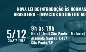 Cartaz do seminário que terá palestra de Rafael Véras, sócio de LL Advogados
