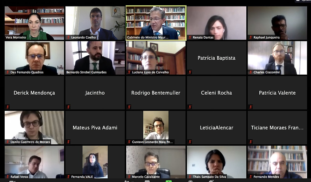 Reunião da Comissão 5 da I Jornada de Direito Administrativo do CJF