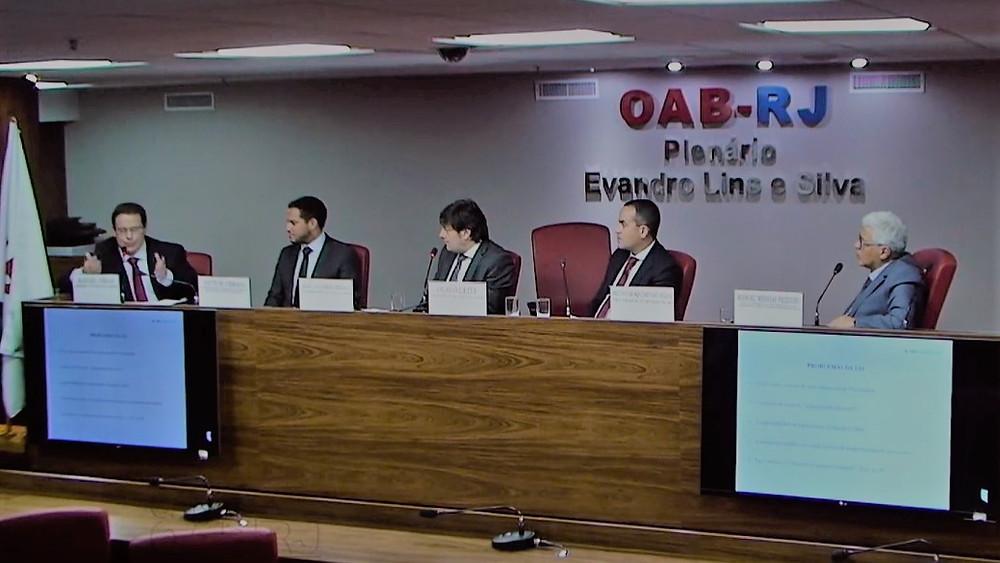Rafael Véras debate a Lei de Improbidade na OAB/RJ
