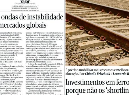 Investimentos em ferrovias: porque não os 'shortlines'?
