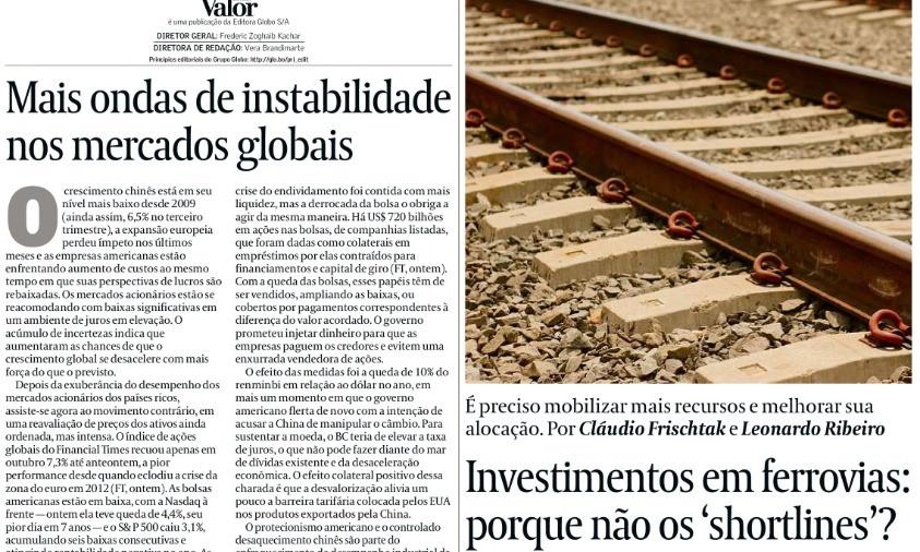 Artigo de Leonardo Coelho Ribeiro, sócio de LL Advogados, no jornal Valor Econômico