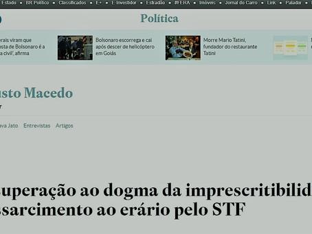 Estadão publica artigo do escritório sobre o julgamento dos Temas 666, 897 e 899, pelo STF