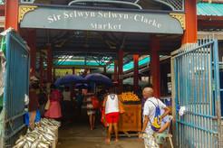 de markt van Victoria