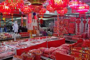 maken de Chinezen zich op voor een (ingetogen) Chinees Nieuwjaar