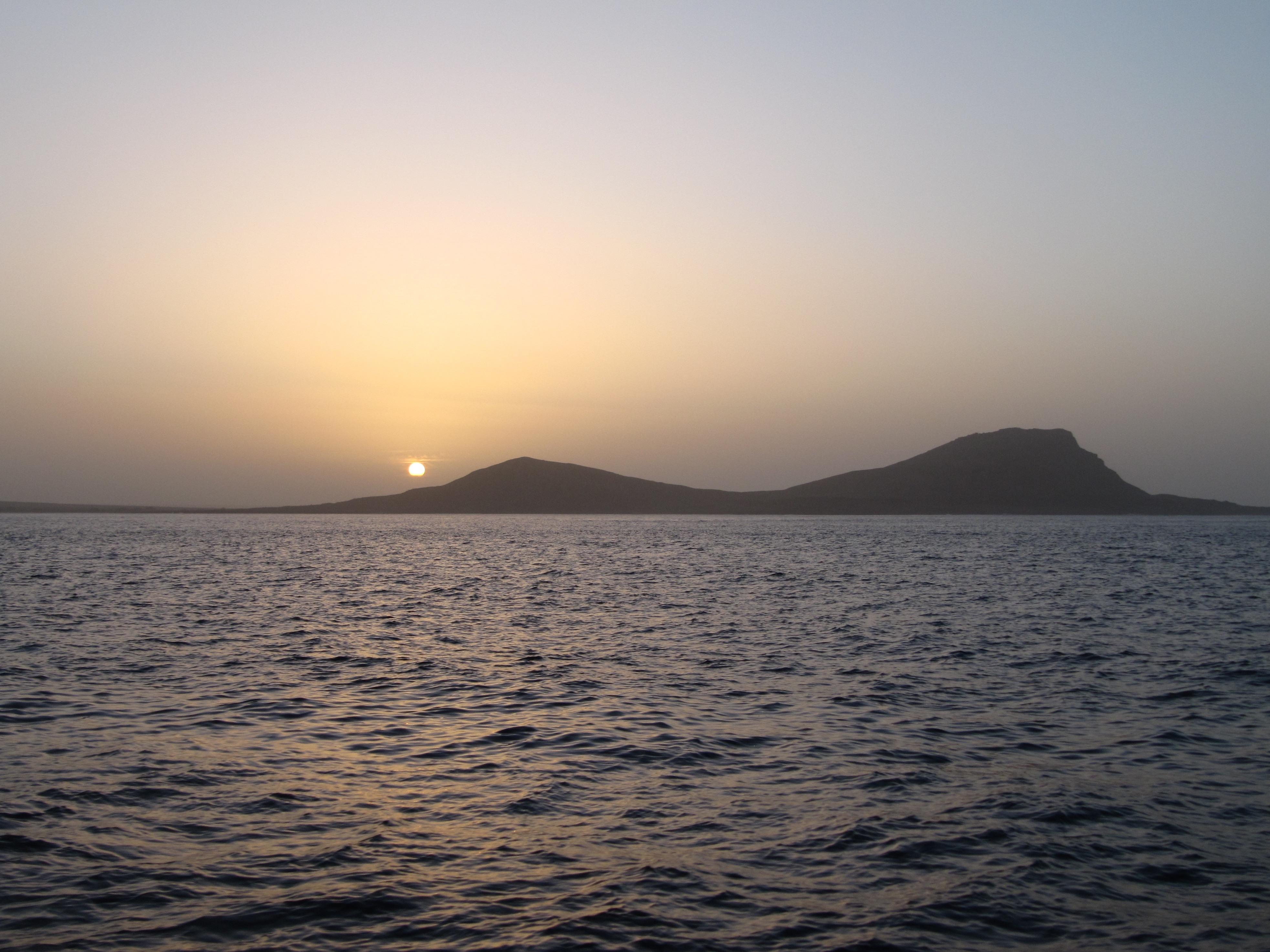 Onze aankomst bij Sal - Cabo Verde