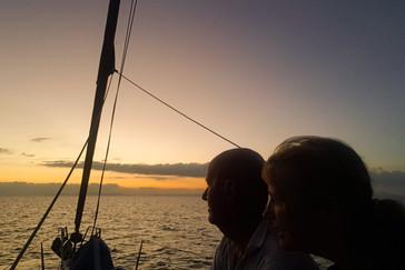 en kijken uit naar het water aan de 'andere' kant, the Indian Ocean