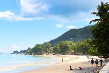 en met uitzicht op een mooi strand