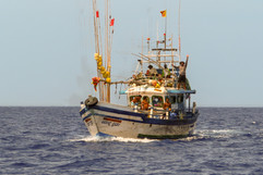Het zijn een stel vissers uit Sri Lanka