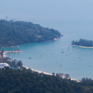 2020 - 'onze baai' bij Telaga Harbour