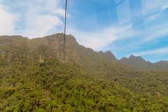 op naar een prachtige view over Langkawi