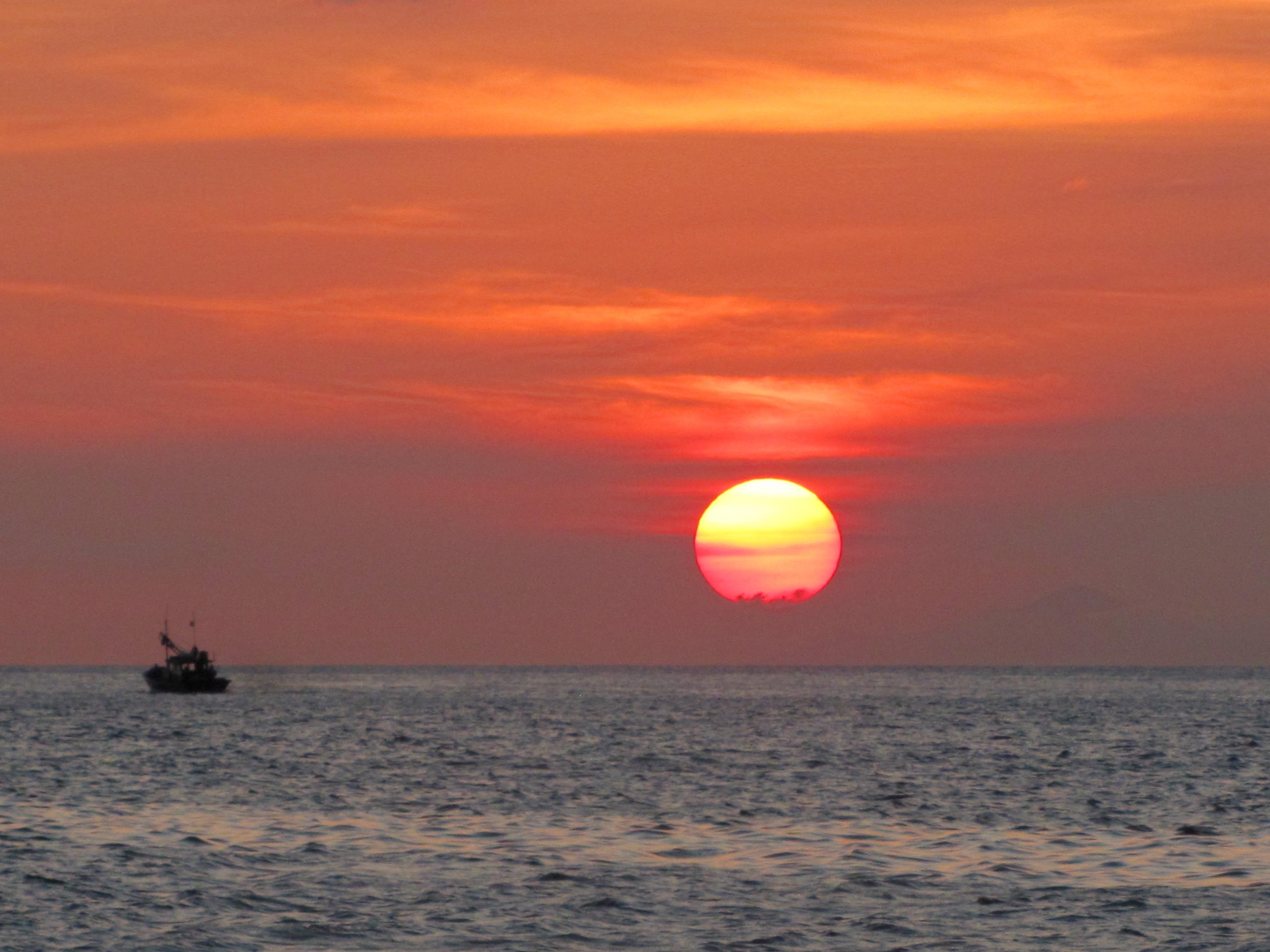 Cabo Frio (zon zakt boven Rio)