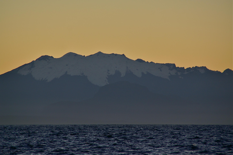 laatste sneeuwtop, Patagonia