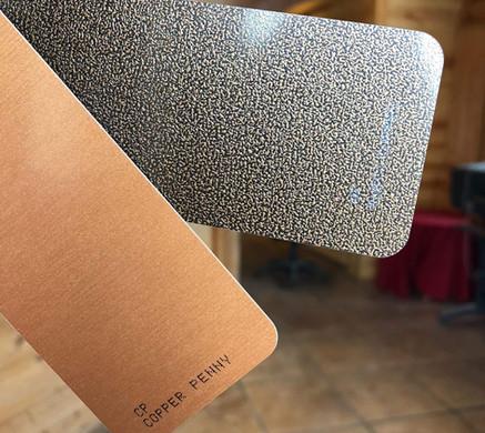 Newest Aluminum Colors