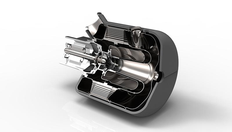 Módulo turbogenerador