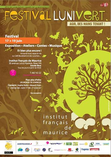 Affiche Festival Lunivert