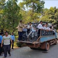 Bike sponsorship Vietnam Jan 2020