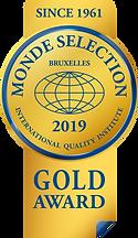Monde Selection - Gold Quality Award 201