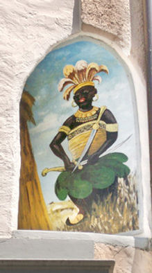 Figur Mohenkönig