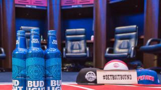 Bud Light + Pistons