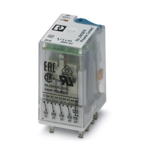 2903676 - REL-IR4/LDP- 12DC/4X21 (EMBALAJE DE 10 UNIDADES)