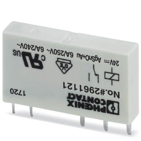 2961121 - REL-MR- 24DC/21AU (EMBALAJE DE 10 UNIDADES)