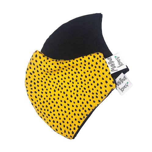 Yellow Dots Face Mask