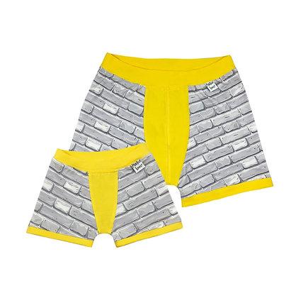 Mini Me Bricks Boxers