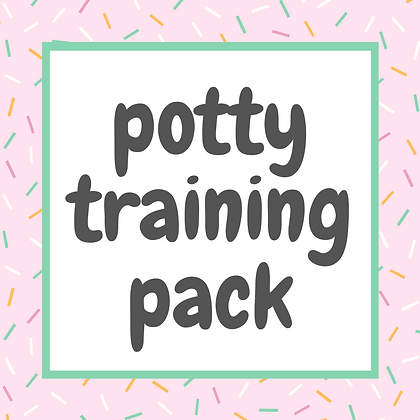 Potty Training Pack