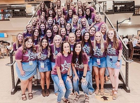 What to expect & wear! - A pre-COVID Panhellenic Recruitment