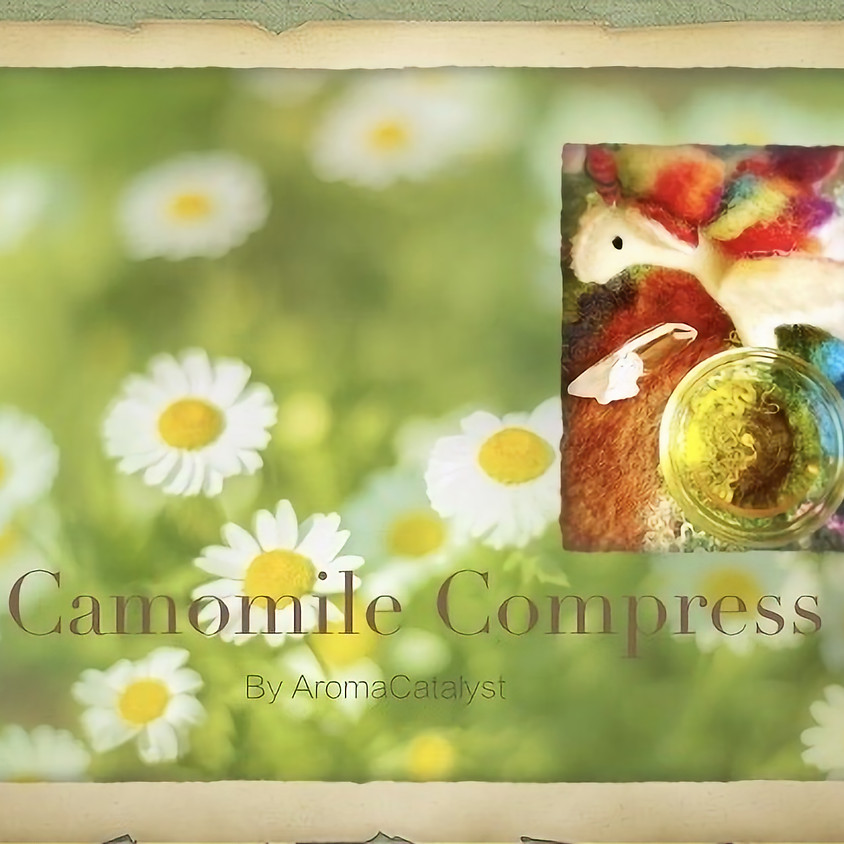 7月の新月のCamomile infused oil作りとお手当ての仕方