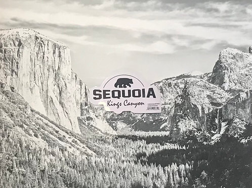 Sequoia - Kings Canyon Small Sticker
