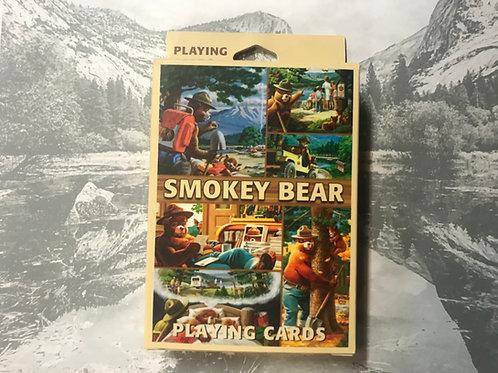 Smokey the Bear Playing Cards