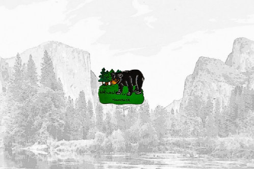 Rubber Yosemite Magnet