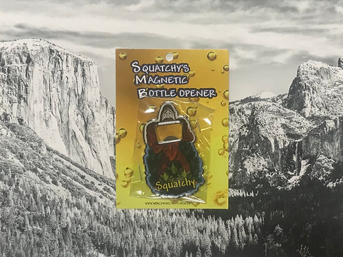 Squatchy's Magnetic Bottle Opener