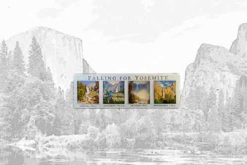 Yosemite Waterfall Magnet