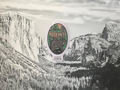 Yosemite National Park Bear Small Sticker