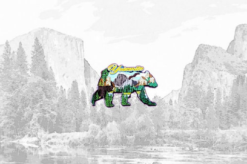Yosemite Bear Magnet